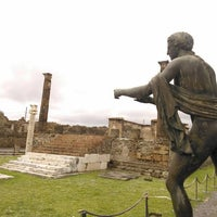 Photo taken at Area Archeologica di Pompei by Diego A. on 12/15/2012