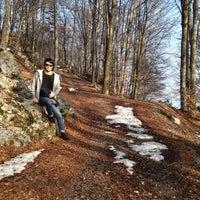 Photo taken at Valle Vertova by Mariagrazia L. on 3/8/2014
