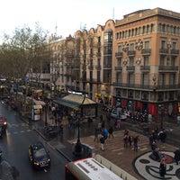 Photo taken at Hostal Mare Nostrum Barcelona by Laurens V. on 3/22/2014