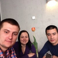 Photo taken at Friends Restaurant & Pub by Юрий Л. on 5/1/2014