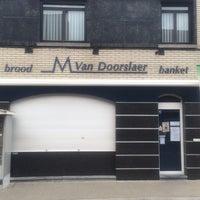 Photo taken at Bakkerij Van Doorslaer by Chris V. on 5/29/2014
