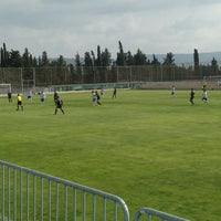 Photo taken at Ciudad Deportiva Real Zaragoza by David A. on 4/6/2013