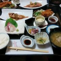 Photo taken at 旬魚 たつみ by takashi on 8/4/2016