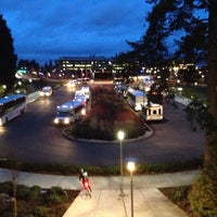 Photo taken at MSFT Commons Transit Center (CTC) by Gilberto on 2/20/2014