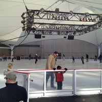 Photo taken at Crown Center Ice Terrace by Gilberto on 2/9/2013