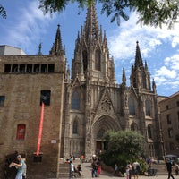 Photo taken at Cathedral of Saint Eulalia of Barcelona by stas d. on 6/11/2013
