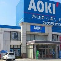 Photo taken at AOKI 田富リバーシティ店 by 岳.Imai on 7/16/2014