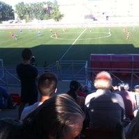 Photo taken at стадион Юбилейный by Kristina V. on 6/15/2014