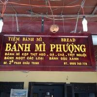 Photo taken at Bánh Mì Phượng by Sebastian V. on 11/19/2013
