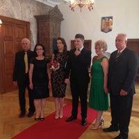 Photo taken at Serviciul Stare Civilă by Sara C. on 7/15/2014