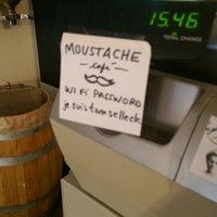 Photo taken at Moustache Café by Andrew B. on 9/27/2015