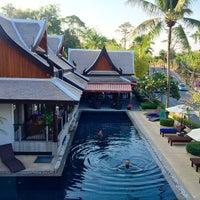 Photo taken at Baan Yin Dee Boutique Resort by P S. on 3/4/2015