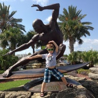 Photo taken at Kelly Slater Statue by Crist J. on 12/13/2014