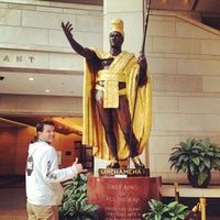 Photo taken at King Kamehameha Statue by Andrew G. on 2/22/2014