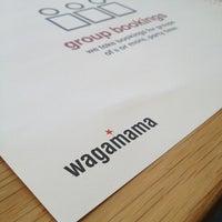 Photo taken at wagamama by Jason B. on 2/14/2013