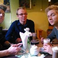 Photo taken at Jaga Cafe by Karolina K. on 11/25/2013