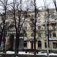 Photo taken at Дворик Ленина 101 by Aristocat on 4/6/2014