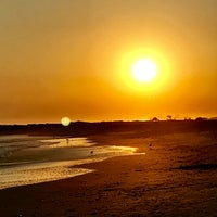 Photo taken at Point Lookout Beach (Town Park) by Terri N. on 9/24/2017