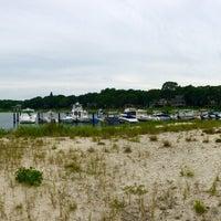 Photo taken at Noyac Bay by Terri N. on 7/3/2016