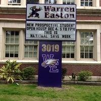 Photo taken at Warren Easton Senior High School by Ant B. on 12/3/2013