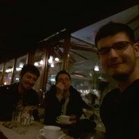 Photo taken at Cafe Molinari by Mustafa Gökay B. on 3/4/2014