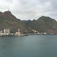 Photo taken at Terminal de Contenedores de Tenerife by Alex Z. on 12/30/2014
