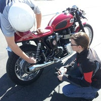 Photo taken at BMW Motorcycles of Austin by Tim G. on 1/11/2014