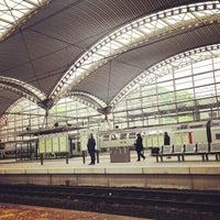 Photo taken at Leuven Railway Station by Kristof D. on 4/5/2013