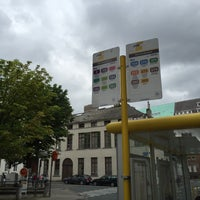 Photo taken at Halte Sint-Jacobsplein by Kristof D. on 8/8/2016