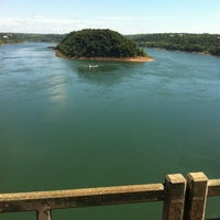 Photo taken at Ponte Internacional da Amizade by Daniel Á. on 12/10/2012