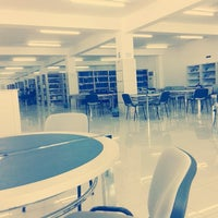 Photo taken at GAU Library by Şeyda S. on 6/3/2015