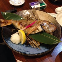 Photo taken at 新潟の地酒とうまいもの処 かもくら by Nuno B. on 8/21/2015