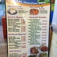 Photo taken at L & L Hawaiian Barbecue by Cecilia W. on 8/25/2014