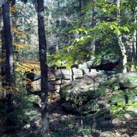 Photo taken at Lower Bears Den Picnic Area by Liz R. on 10/25/2012