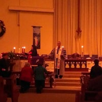 Photo taken at Kennesaw United Methodist Church (UMC) by Cassandra B. on 12/25/2013