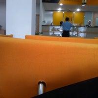 Photo taken at Bank Internasional Indonesia by koernia k. on 11/21/2012