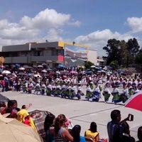 Photo taken at Centro Escolar Gustavo Díaz Ordáz by Jennifer R. on 7/11/2014