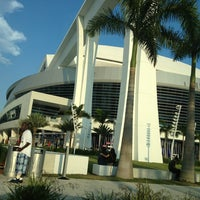 Photo taken at Marlins Park by JENNIFER on 4/13/2013