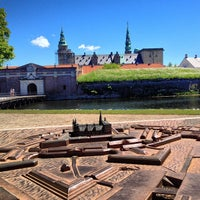 Photo taken at Kronborg Castle by Fabiano W. on 6/10/2013