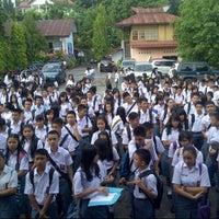 Photo taken at SMA 9 Binsus Manado by Maureen L. on 7/17/2013