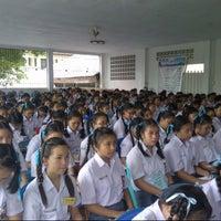 Photo taken at SMA 9 Binsus Manado by Maureen L. on 7/16/2013