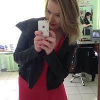 "Photo taken at Парикмахерская ""София"" by Elena S. on 5/24/2014"