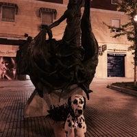 Photo taken at monumento a las victimas del terrorismo by Juan Carlos M. on 4/10/2014