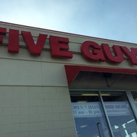 Photo taken at Five Guys by Ryan H. on 2/3/2014