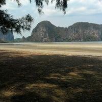 Photo taken at Rajamangala Beach by Mild A. on 4/12/2015