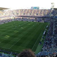 Photo taken at Estadio La Rosaleda by Jarno P. on 5/26/2013