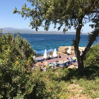 Photo taken at Maya Bistro Hotel Beach by Sevilay K. on 8/25/2017