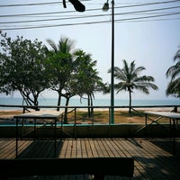 Photo taken at Nam Rin Beach by UTTU on 2/13/2017
