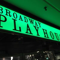 Photo taken at Broadway Playhouse by Colin K. on 11/25/2012