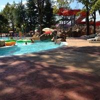 Photo taken at Aquapark Aquamania by Zuzka B. on 8/19/2014